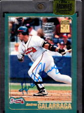 2015 TOPPS ARCHIVES SIGNATURE SERIES ANDRES GALARRAGA BRAVES AUTO #ED 5/27