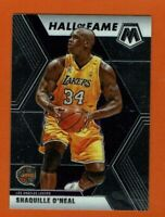 2019-20 Panini Mosaic Shaquille O'neal Hall of Fame #281 Los Angeles Lakers