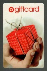 TARGET ( Australia ) Hand Holding Small Gift Box 2006 Gift Card ( $0 )
