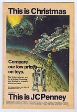 Star Wars 1978 JCPenney Christmas Catalog Featuring Star Wars 11/12-11/19 Color