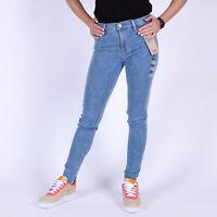 Levi's 720 High Rise Super Skinny Hypersoft Full House Blau Damen Jeans 26.32