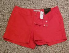 Banana republic, orange shorts, size 4, 3 &1/2 length, NWT