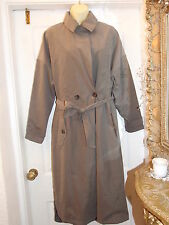 NEW LADIES ATMOSPHERE TAUPE COLOUR TRENCH COAT FULLY LINED  SIZE 14, RRP  £25.00