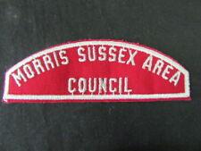 Morris Sussex Area Council RWS Council Strip     cjprw