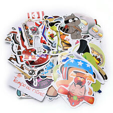 100X/Set Stickers Car Accessory Stickerbomb Case Decals Decoration No-Repeat TB