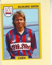n° 30 VIGNETTE PANINI CHAMPIONNAT DE FRANCE 1992 WILHELMUS GORTER CAEN