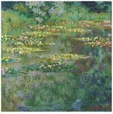 LANDSCAPE ART PRINT - Le Bassin des Nympheas, 1904 by Claude Monet Poster 38x38