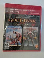 God of War Collection (Sony PlayStation 3, 2009) Greatist Hits Version