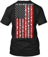 American War Vets Community - Veteran This Oath Never Hanes Tagless Tee T-Shirt