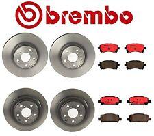 Rear & Front Disc Brake Rotors & Disc Brake Pads Brembo for Subaru Forester