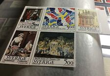 Sweden 1994 French Swedish Culture Slania MNH Book