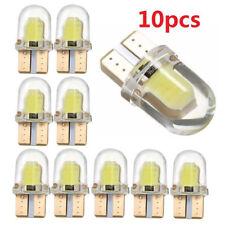 10x T10 W5W 194 168 COB LED Auto Nummernschild Dome Karte Glühbirne weiss DC 12V