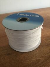 200m High Quality Polyester Heavy Duty 1mm Wide Roman Blinds Cord