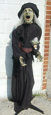 Standing Witch Scary Halloween Decoration 5 Ft. Tall    L2523