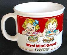 1989 and 1991 Campbell's Soup Kids M'm M'm Good! Super Mug 16 OZ.
