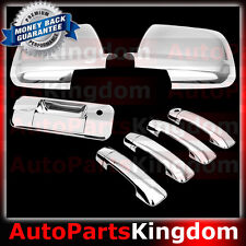07-13 TOYOTA TUNDRA CREW MAX Mirror+Chrome 4 Door Handle no PSGKH+Tailgate Cover