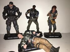 Gears of War 4  NECA action figure lot Excellent Condition
