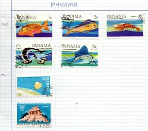 Panama 1965 Selection used on paper