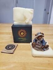 "Boyds Bears Bearstones:""Wilson At The Beach"" Style 2020-06, 14E/3146 With Box"