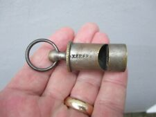 An Antique Keepers Whistle c1880