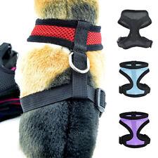 Collar de Perro de Perrito Camina Correa De Malla Suave Chaleco Mascota Arnés De Control Banda Ajustable
