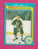 1979-80 OPC # 206 NORTH STARS BOBBY SMITH   ROOKIE EX CARD (INV# C4344)