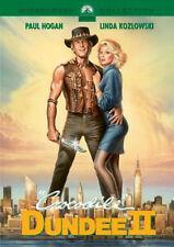 CROCODILE DUNDEE 2 DVD Paul Hogan Linda Kozlowski John Cornell UK Release New R2