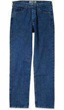 X5-44 Wrangler 6MLB Herren Jeans W29 L34 blau Bootcut Muscle Low Waist Button