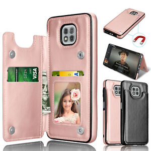 For Motorola Moto G Power/G Play/G Stylus 2021 Wallet Case Leather Stand Cover