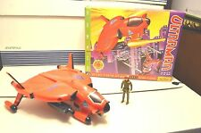 ULTRAMAN  Bandai 1991 Dreamworks Defender of Universe Hummer Defense Jet & Pilot