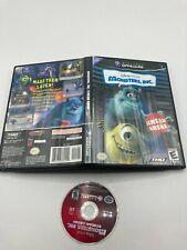 Nintendo GameCube Disc CASE No Manual Monsters, Inc.: Scream Arena