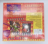 Disney Celebrity Cel Art Painting Set The Hunchback Of Norte Dame Ages 7 RARE