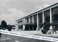 Heilbronn - Der neue Hauptbahnhof - um 1955 - RAR        J 25-13
