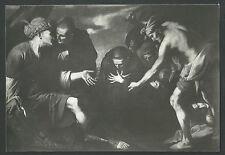 Postal antigua de San Placido andachtsbild santino  holy card santini