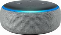 Amazon Echo Dot 3rd Generation w/ Alexa Voice Media Device - Heather Grey