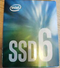 INTEL SSD6 256GB 600P series M.2 SSD drive NEW