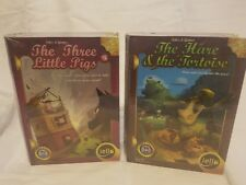 Tales and Games:The Hare &The Tortoise and The Three Little Pigs(Free Shipping)