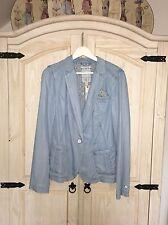 ESPRIT Jacke im Blazer-Stil in Jeans Optik aus weichem Lyocell 42 NEU NP79,99€