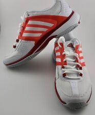 New-Adidas Barricade Team 4 Women's All Court Tennis Shoes Size 6- Orange/White