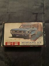 AMT 1968 Mustang 2+2 1/43 Scale Mini Kit