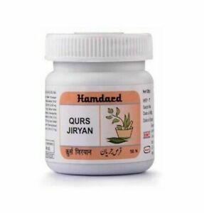 (50tab) Hamdard Qurs Jiryan useful in premature ejaculation and spermatorrhea