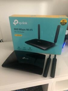 TP-LINK TL-MR6400 300Mbps 4G LTE Wi-Fi Router - Come nuovo