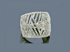 Echtschmuck Brillant Ring Diamanten 14 Karat 585er Weißgold 1,25 Karat Neu