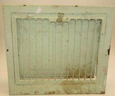 Antique Wall Floor Register Heat Exchange Adjustable Door Metal Air Flow Duct