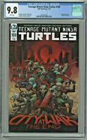 Teenage Mutant Ninja Turtles #100 CGC 9.8 1st First Print Edition Death Splinter