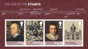2010 Stuarts Miniature Sheet MNH