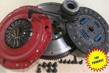 SKODA OCTAVIA 2.0 TDI SMF FLYWHEEL AND CARBON KEVLAR CLUTCH WITH CSC AND BOLTS