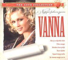 VANNA CD Najljepse ljubavne pjesme Love Collection Hitovi Jacques Houdek Kroatie