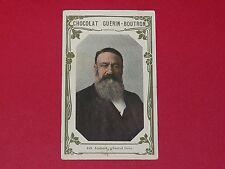 CHROMO GUERIN-BOUTRON CELEBRITES 1910 N°149 GENERAL JOUBERT BOËR