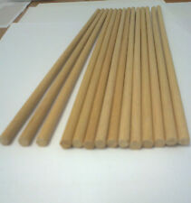5 WOODEN DOWEL RODS 19MM DIAMETER FOR CRAFT AND MANY OTHER USES